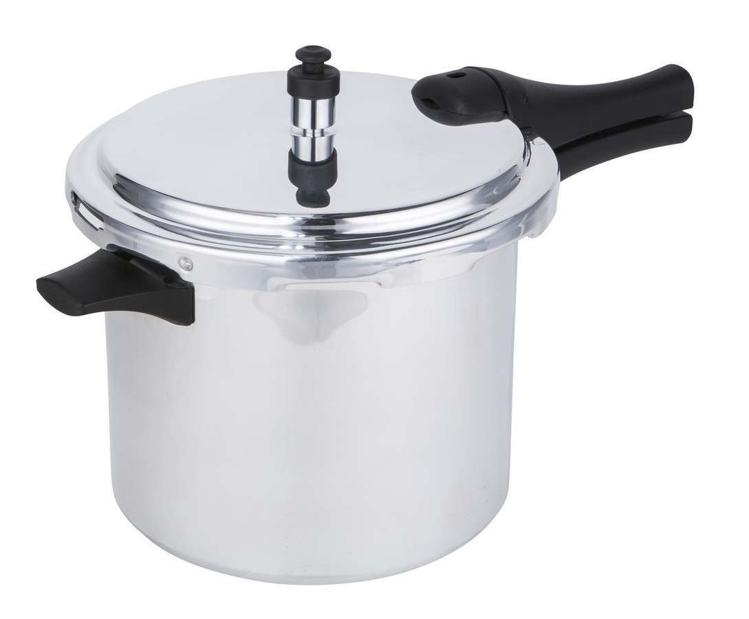6 Litre Sleek & Simple Aluminium Pressure Cooker with Steamer